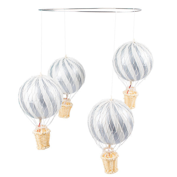 Filibabba Air Balloon Mobile Silver