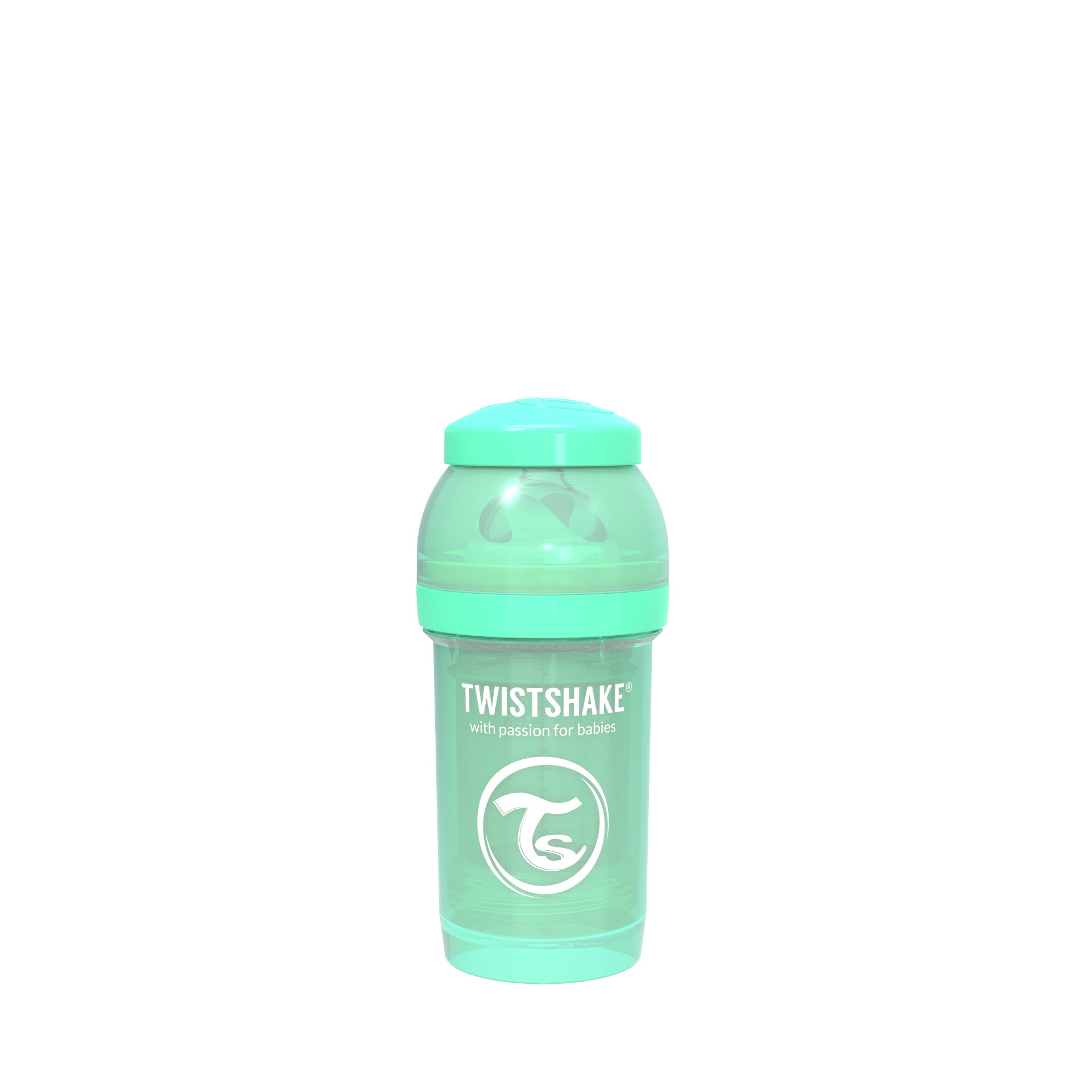 Twistshake Anti-Colic 180ml - Pastel Green