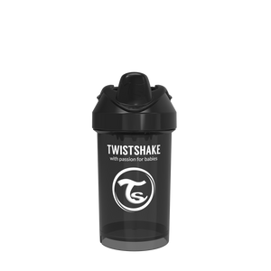 Twistshake Crawler Cup Trinkflasche 300ml 8+m - Black