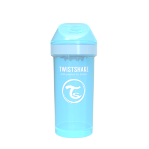 Twistshake Kid Cup Trinkflasche 360ml 12+m - Pastel Blue