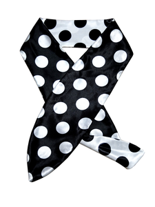 REVERSIBLE POLKA DOT HEADSCARF