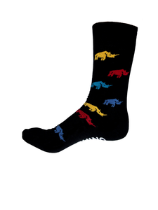 BLACK RHINO LONG SOCK 1PK