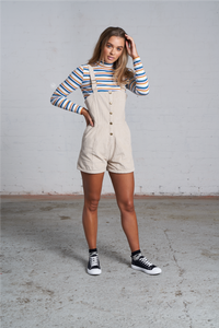 THE 'CINDY' CORDUROY OVERALLS