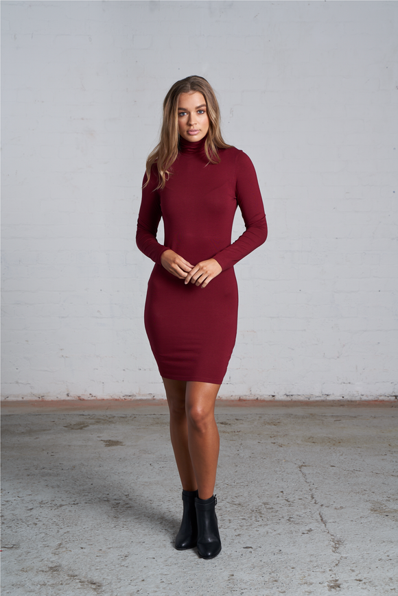 THE 'ABBEY' LONG SLEEVE DRESS