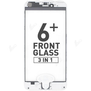 Front Glass with Bezel and OCA (3 in 1) Compatible For iPhone 6 Plus