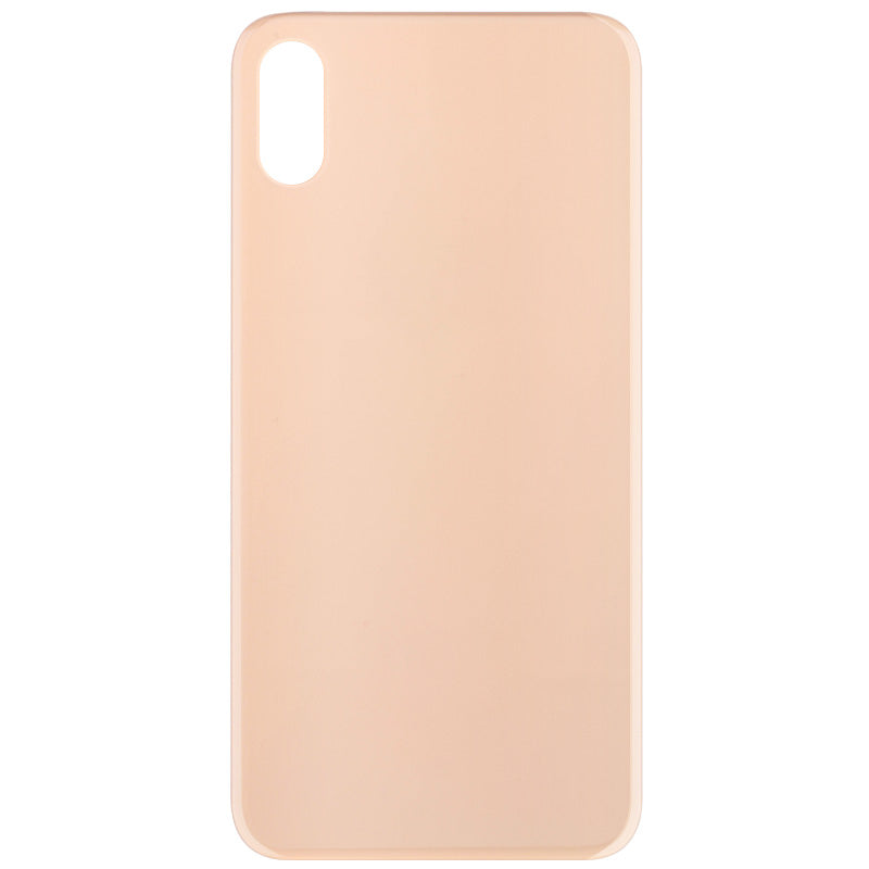 Back Cover Glass Compatible For iPhone XS Max (big hole, no logo)