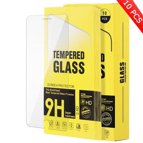 Tempered Glass Compatible For iPhone SE 2020(10 pcs in a pack)