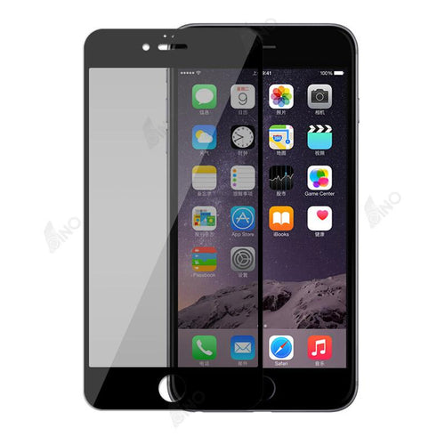 Tempered Glass Screen Protector Compatible For iPhone 6 Plus( Privacy )