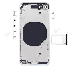 Load image into Gallery viewer, Rear Case with Side Button and SIM Card Tray Compatible For iPhone SE 2020 (no logo)