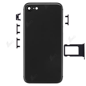 Rear Case with Side Button and SIM Card Tray Compatible For iPhone SE 2020 (no logo)