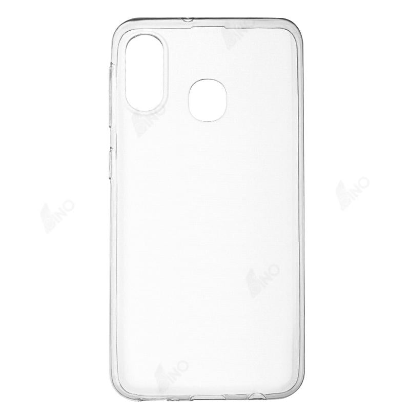 Protective Phone Case Compatible For Samsung A20E (TPU, Clear)