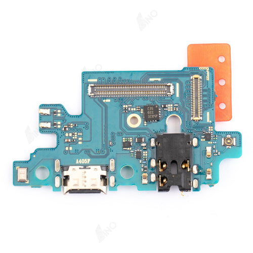 Charging Port With Flex Cable Compatible For Samsung A40(A405/2019)