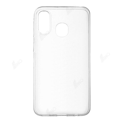Protective Phone Case Compatible For Samsung A40 (TPU, Clear)