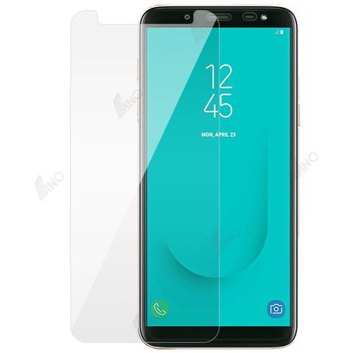 Tempered Glass Compatible For Samsung A6 Plus(10 pcs in a pack)