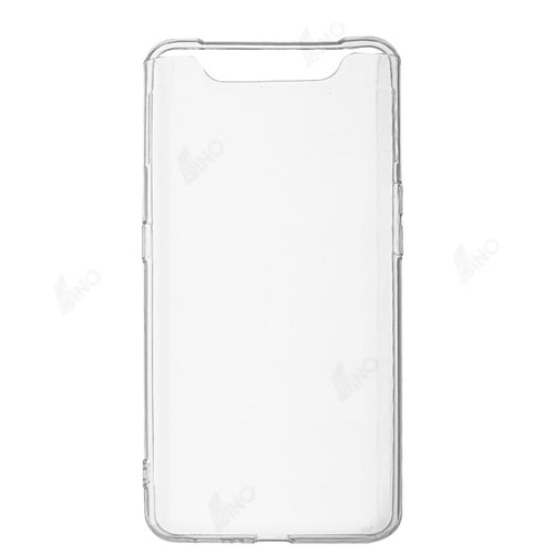 Protective Phone Case Compatible For Samsung A80 (TPU, Clear)