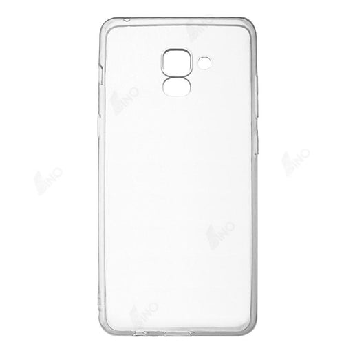 Protective Phone Case Compatible For Samsung A8 Plus (TPU, Clear)