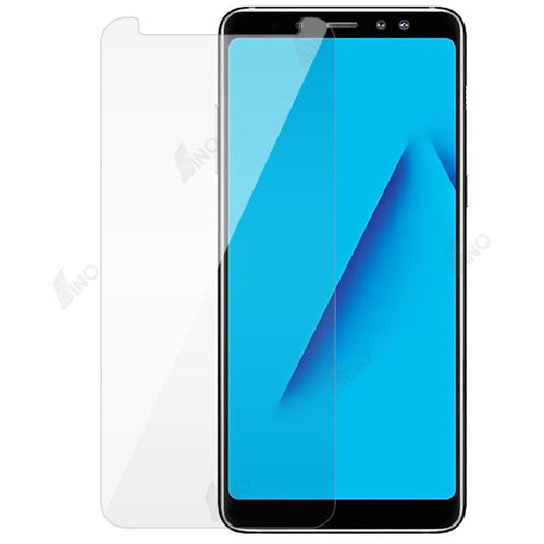Tempered Glass Compatible For Samsung A8 Plus(10 pcs in a pack)