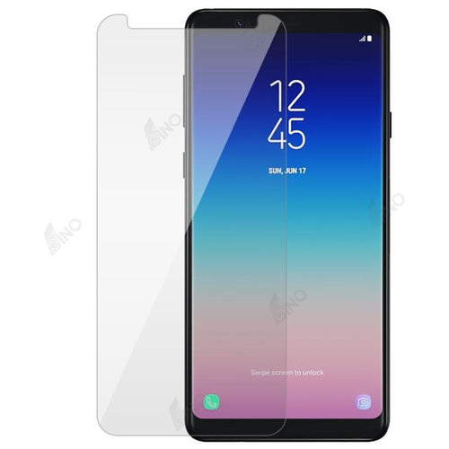 Tempered Glass Compatible For Samsung A8 Star(10 pcs in a pack)