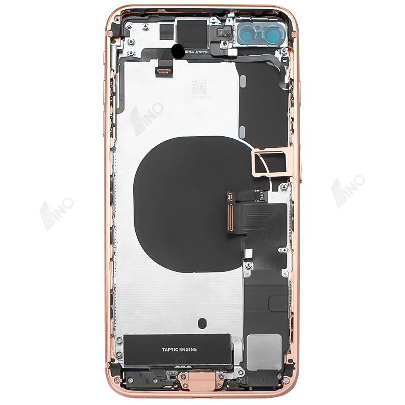 Back Housing with Small Parts Compatible For iPhone 8 Plus (no logo)