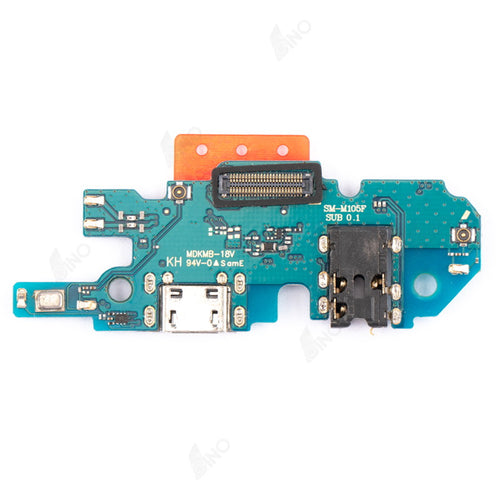 Charging Port With Flex Flex Compatible For Samsung M10