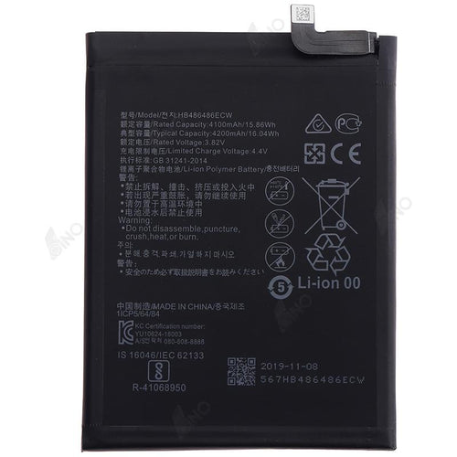 Battery Compatible For HUAWEI P30 Pro/Mate 20 Pro  (QES)