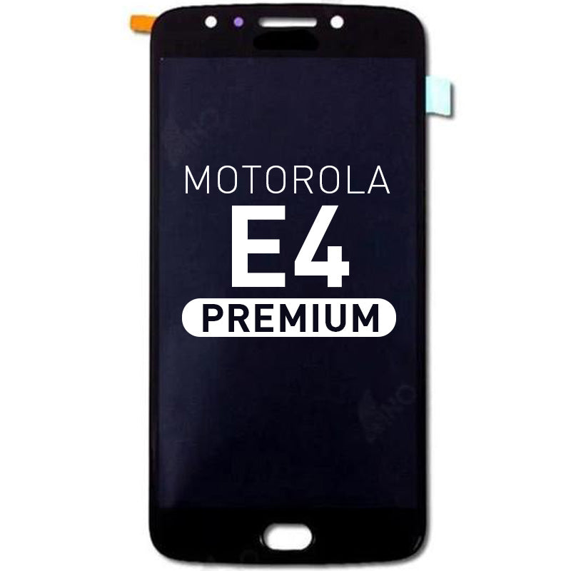 LCD Assembly Compatible For Motorola  E4(Premium)