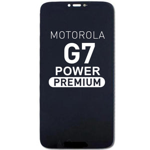 LCD Assembly Compatible For Motorola  G7 Power(Premium)