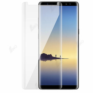 Tempered Glass Compatible For Samsung Note 8 (UV, 3D Curved, Full Screen)
