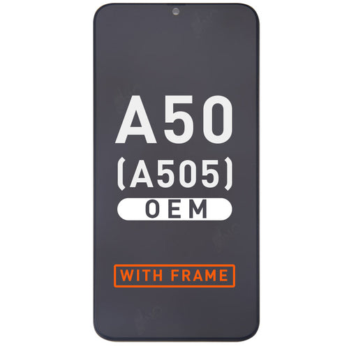 OEM Assembly with Frame Compatible For Samsung A50(A505/2019)(OEM)