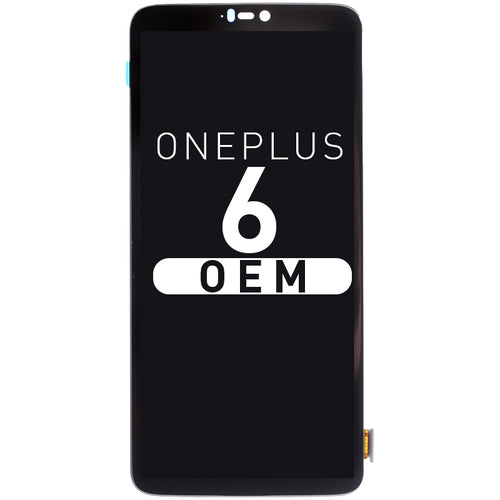 OLED Assembly Compatible For OnePlus 6 OEM
