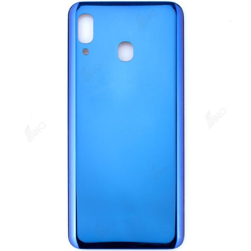 Rear Case Compatible For Samsung A20 Blue