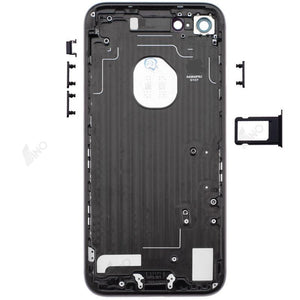 Rear Case with Side Button and SIM Card Tray Compatible For iPhone 7 (no logo)