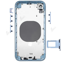 Load image into Gallery viewer, Rear Case with Side Button and SIM Card Tray Compatible For iPhone XR (no logo)