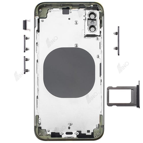 Rear Case with Side Button and SIM Card Tray Compatible For iPhone XS (no logo)