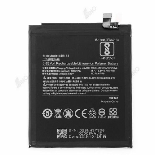 Battery Compatible For Xiaomi Redmi Note 4X (QES )