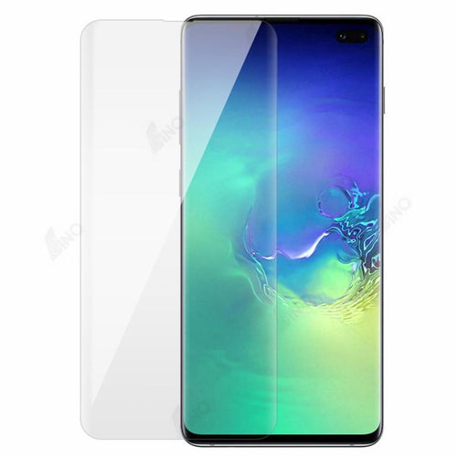 Tempered Glass Compatible For Samsung S10 Plus (UV, 3D Curved, Full Screen)