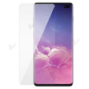 Tempered Glass Compatible For Samsung S10 Plus(10 pcs in a pack)
