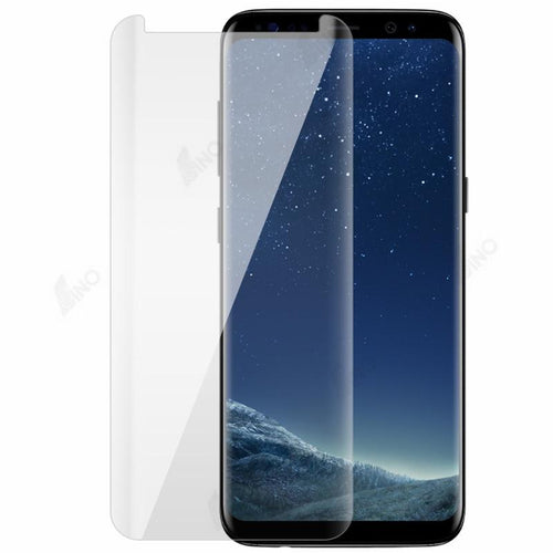 Tempered Glass Compatible For Samsung S8 (UV, 3D Curved, Full Screen)