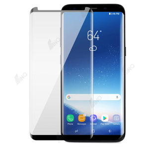 Tempered Glass Compatible For Samsung S9 (3D Curved, Full Screen,Full Glue)