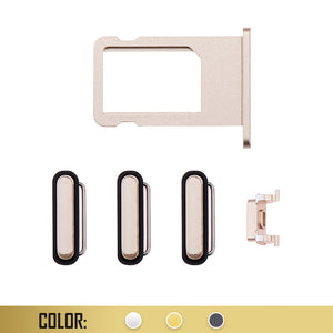 SIM Card Tray With Side Button Compatible For iPhone 6