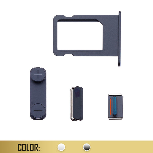 SIM Card Tray with Side Button Compatible For iPhone 5