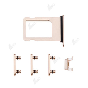 SIM Card Tray with Side Button Compatible For iPhone 8
