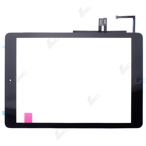 Touch Screen with Home Button Assembly/Sticker Compatible For iPad 2018, (Premium)