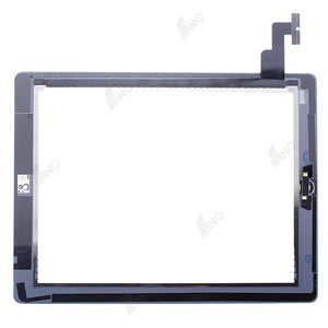 Touch Screen with Home Button Assembly/Sticker Compatible For iPad 2, Premium