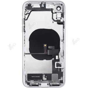 Back Housing with Small Parts Compatible For iPhone XR (no logo)