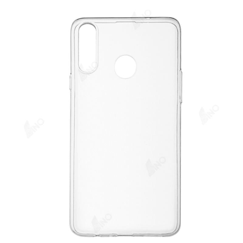 Protective Phone Case Compatible For Samsung A20 S (TPU, Clear)