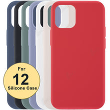 Load image into Gallery viewer, Silicone Protective Phone Case Compatible For iPhone 12