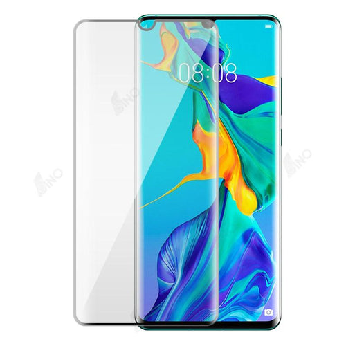 Tempered Glass Compatible For HUAWEI P30 Pro (3D Curved, Full Screen, UV,Full Glue)