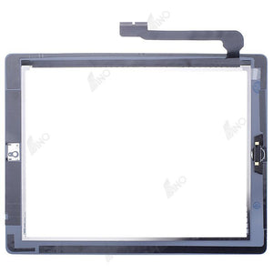 Touch screen with home button/sticker assembly Compatible For iPad 3,Premium