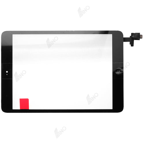 Touch screen with IC connector and home button assembly Compatible For iPad mini / mini 2,Refurbished(original material)